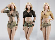 Fire Girl Toys Fg024 025 026 1/6 Scale Female Soldier New Cool Clothes Set Model