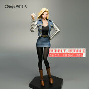 1/6 Android 18 Costume Clothing Set M013a For 12'' Female Figure Phicen Hot Toys