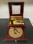 Mr Christmas Gold Label Inspirational Symphonium Music Box With 10 Discs - Gwo