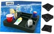 Floating Drink Holder Refreshment Table Tray For Pool Beach Party Float