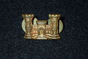 Ww2 Us Army Corps Of Engineers Officers Bos Branch Collar Insignia Ns Meyer Smal