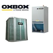 Oxbox A Trane Brand 3.0 Ton 14.0 Seer Air Conditioning System W/front Return