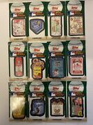 Lot Of 12 Topps Wacky Packages Baseball Sticker Cards Packs- Factory Sealed