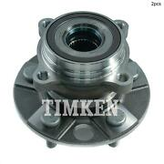 For Lexus Ls460 Ls600h Ls500 Rear Set Of 2 Wheel Bearing And Hub Assembly