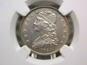 1834 Capped Bust Quarter 25c Ngc Unc Details East Coast Coin And Collectables Inc
