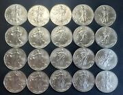 Roll American Silver Eagles - 1997 - 20 Us Coins - Stunning Condition - 2