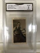 1931 Wd And Ho Wills Walt Disney And Mickey Mouse Rookie 24 Gma 2 Good Condition Rc