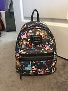 Disney World 2018 Annual Passholder Loungefly Mini Backpack Nwt Great Placement