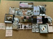 Huge Kitsch Kit-sch Jewelry And Hair Accessories Lot New