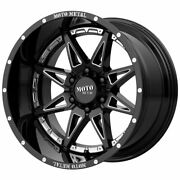 20x9 Black Milled Wheels Moto Metal Mo993 Hydra 6x135 0 Set Of 4 87.1