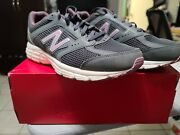 Ladies New Balance Size 9 Dwide Us Athletic Running Shoes Gray And Purple Read Des