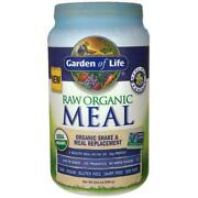 Raw Organic Meal Shake And Meal Replacement- Vanilla -33.5oz-949gr Freeship