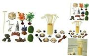 Deluxe Zen Garden Accessories Kit - Zen Garden Rake Stamp Tools Set -