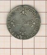 Louis Xiii 1/4 Quarter Dand039 Ecu In The Hammer 5387 1/12ft Toulouse