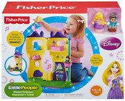 New-rare Fisher-price Little People - Disney Princess Rapunzel's Musical Tower
