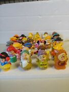 Fisher Price Little People Lot Of 32 Disney Snow White Cinderella And Lots More
