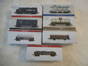 7 Nib High Speed Metal Products Southern Pacific N Scale Loco, Cars