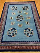 7and039 X 10and039 Chinese Aubusson Oriental Rug - Full Pile - Hand Made - 100 Wool