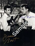 James Best And Andy Griffith 8.5x11 Dual Signed Autograph Rp [mint]