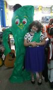 6 Foot Gumby Inflate And 18 Vintage Assorted Gumby Toys From 1980/90and039s