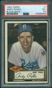 1952 Topps 1 Bb Andy Pafko Psa 3.5 8984