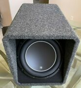 Jl Audio Ho112-w6v3 12in Car Subwoofer High Output Ported Enclosure