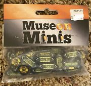 Muse On Minis Acrylic Faction Tokens Steampunk Fantasy Mercs/minions Sealed