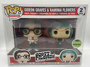 Eccc 2018 Funko Pop Gideon Graves And Ramona Flowers 2 Pack Le 4000 Pcs