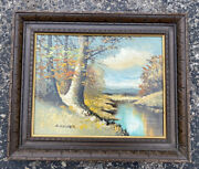 Shirley Moskowitz Gruber Mid Century Oil Painting