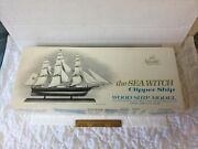 Vintage Scientific Wood Ship Model Kit 171 The Sea Witch Clipper 1120 Scale