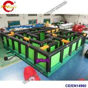 Giant Dual Slide Inflatable Trampoline Castle Jumping Bouncer Bouncy Obstacle