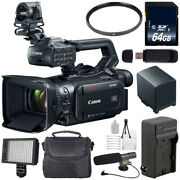 Canon Xf400 Camcorder + 64gb Memory Card + Bp-820 Replacement