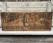 Weymanand039s Smoking Tobacco Crate Pittsburgh Pennsylvania Cut And Dry Tobacco Box