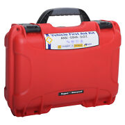 Dot Deluxe First Aid Kit Rugged And Waterproof 909 Red By Mfasco