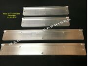 1959 Edsel Ranger Corsair 4-door Sill Scuff Plates As Original Set Of 4 New