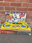 Antique Tin Toy Alps Japan Battery Operated Spacecraft Ranger Shuttle Japanese