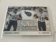 Thunder And Lightning Derrick Henry And A J Brown