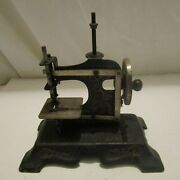 Antique Miniature Sewing Machine Hand Held Late Victorian, Working, Hand Held