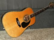 Made In Japan 1977 - Rider R500d - Absolutely Amazing D45 Style Acoustic Guitar