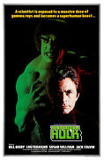 The Incredible Hulk - Lou Ferrigno Movie Poster - 24x36 - Free S/h