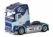 For Volvo Fh4 Globetrotter Xl 4x2 Space Cab 01-2709 1/50 Diecast Model Truck
