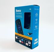 Roku Express Hd Streaming Media Player | With Hdmi Cable And Simple Remote 3930r