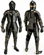 Medieval Collectible Knight Suit Of Full Body Armour With Stand Great Templar