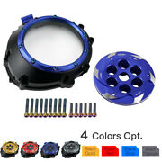 Cnc Waterproof Racing Clear Clutch Cover Protector Kit For Bmw S1000xr 2015-2019