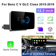 12.3 Android For Mercedes Benz C Glc V R Class 2015-20 Gps Radio Car Stereo Gps