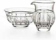 Waterford Crystal Grafton Street Bolton Creamer And Open Sugar New In Box