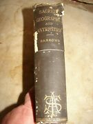 Sacred Geography, And Antiquities W/ Maps And Illustrations American Bible Tract Old