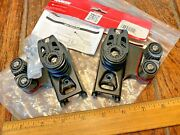 New Harken Small Boat Traveler Controls Double Carbo Blocks W/cams Mod 2743