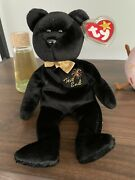 Ty Beanie Baby The End Bear Mint Condition Rare With 4 Errors Must See