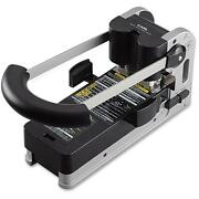 Carl Extra Heavy-duty Two-hole Punch - 2 Punch Heads - 300 Sheet Capacity...